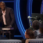 Stephen Hawking, former Lucasian Professor of Mathematics, and Director of Research at the Centre for Theoretical Cosmology at the University of Cambridge, being roasted by former Whose Line Is It Anyway? star Wayne Brady - (AP Photo)